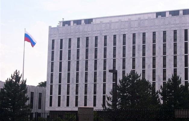 The Embassy of Russian in Washington DC, USA. / K. Wang, WIkimedia Commons,