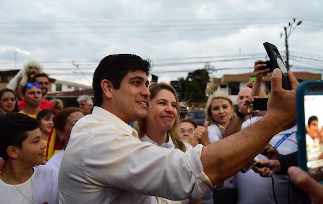 Carlos Alvarado, new president of Costa Rica. / FB Carlos Alvarado,