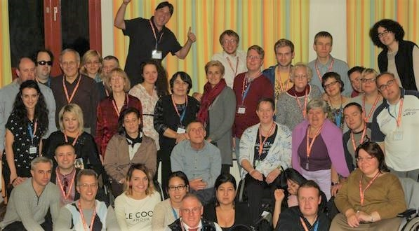 Participants in the 2015 European Disability Network, in Vienna. / EDN,