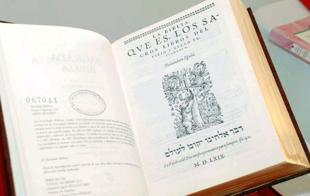 The stamp will show the cover of the Bear  Bible.  ,