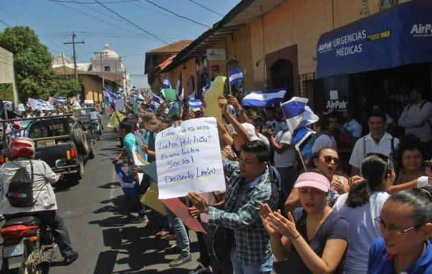 Thousands of Nicaraguans have protestes against the government in the last few days. / Photo: LaPrensa,