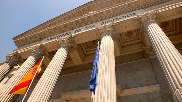 The Spanish Parliament. / Wikimedia,