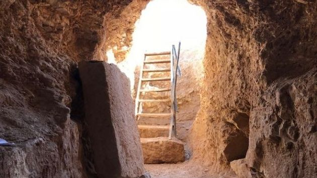 The discovery of a so-called secret church dates as far back as the third or 4th century, A.D. / FOX News,