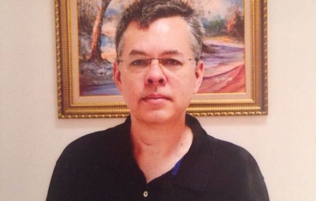 Andrew Brunson was jailed in Turkey in October 2016. / USCIRF,Andrew Brunson turkey