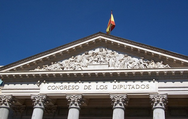 Spanish Parliament.,