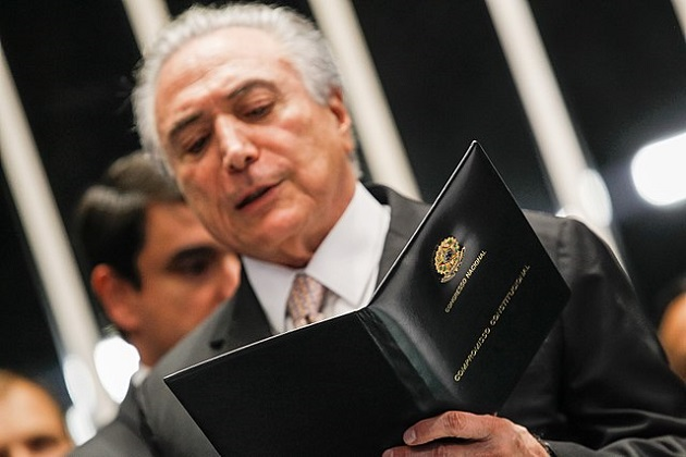 Michel Temer, the President of Brazil, one of the main characters in the political conflict in the country. / Official Flickr Michel Temer,