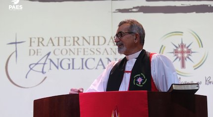 Miguel Uchoa, new Archbishop of the Anglican Church Brazil. / Gafcon