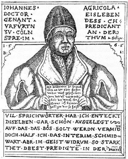 Agricola, the student who became Luther's nemesis. / Wikipedia.