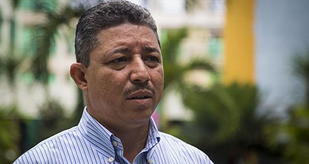 Leonel Ortiz, the president of the Nazarene churches in Cuba. ,