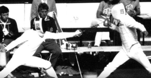 Boris Onischenko in the 1976 Montreal Olympics. / You tube capture.,