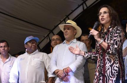 Viviane Morales had been able to unite all evangelical Christians behind her candidacy. / V. Morales Facebook