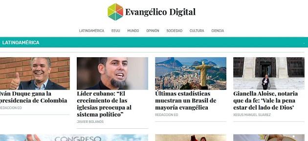The news media project Evangélico Digital will focus on Latin America. / Evangélico Digital,