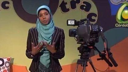 A presenter of Cordoba International Television.