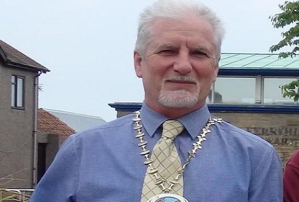 Richard Smith, former Mayor of Ferryhill. / Christian Concern.,