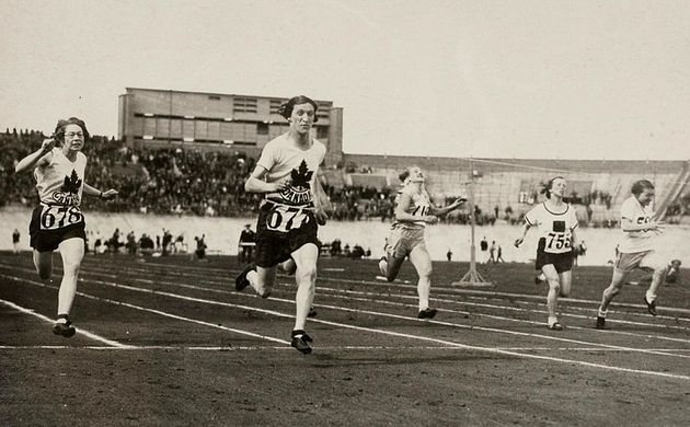The Amsterdam Olympic Games in 1928 were the first to accept female competitors.  / Wikimedia Commons.,