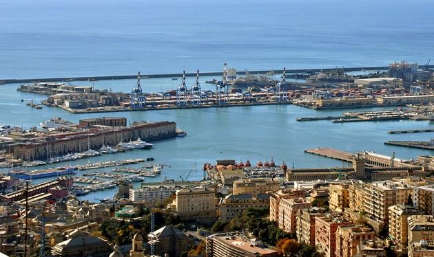 A view of Genova, in Italy. / A. Vecchi (Wikimedia, CC),