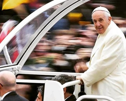 Pope Francis. / Franciscus Instragam,