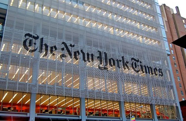 New York Times headquaters. / Wikimedia, Haxorjoe CC BY-SA 3.0,