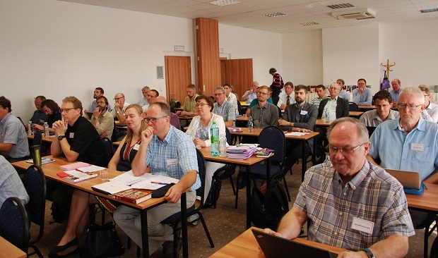 Participants of the biennal conference of the FEET held in Prague, August 2018. / Gert Hain,