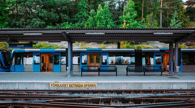 A train station near Stockholm, in Sweden. / P. Petterson (Unsplash, CC0),