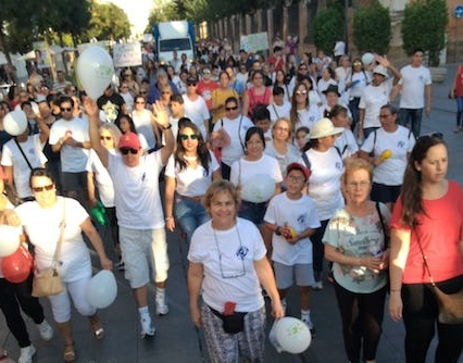 Hundreds took part in the March for Jesus. / Koinonia Sevilla