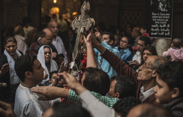 A celebration of Coptic Christians in Egypt. / Chaouye Pan (CC),