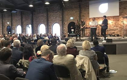 The Conservative Party Conference annual church service took placeon Sunday 30th September at Gas Street church, Birmingham. / Home for Good