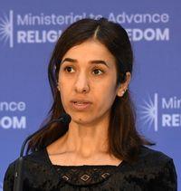 Nadia Murad. / Wikepedia Commons.
