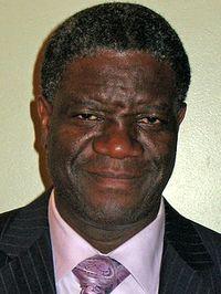 Denis Mukwege. / Wikepedia Commons.