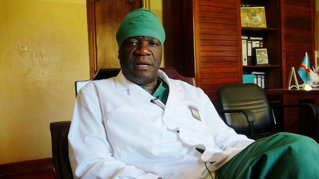 Doctor Denis Mukwege. / PINAULT/VOA. Wikimedia Commons,