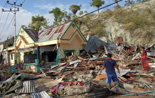 The death toll has risen to more than 2000. / World Vision.,