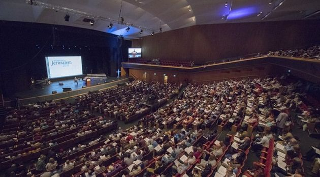 A session of the third Global Anglican Future Conference (GAFCON), in Jerusalem, 2018. / FB Gafcon