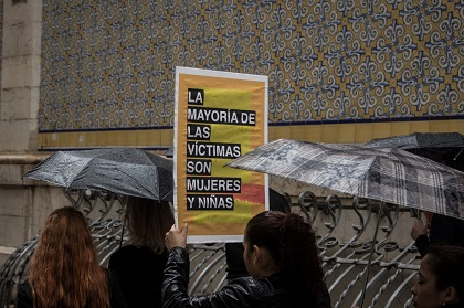 Most victims are girls and women. / R. Paramio, thesecretkey.es
