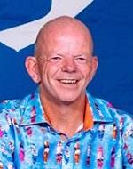 Phil Williams, regional coordinator of Christian Surfers Europe. / CS