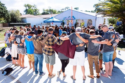 Times or community and prayer. / CS
