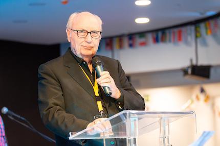 George Wood, Chairman of the WAGF. / Juan José Marcos Ramos, FADE