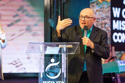 Brad Walz, Chairman of the WAGF Missions Commission. / Juan José Marcos Ramos, FADE