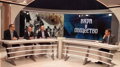 Pastor Bordjiev of the Bulgarian Evangelical Alliance on National TV, November 19, 2018.