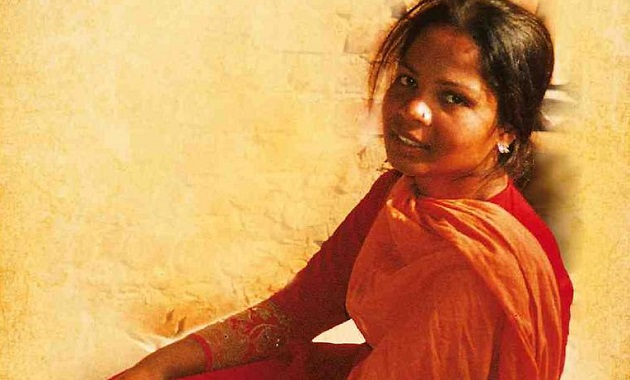Asia Bibi, the Christian woman accused of blasphemy imprisoned in Pakistan since 2009. ,