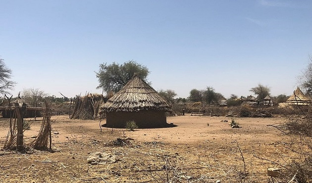 Village in South Darfur, Sudan. / Wikipedia CC, Chansey,