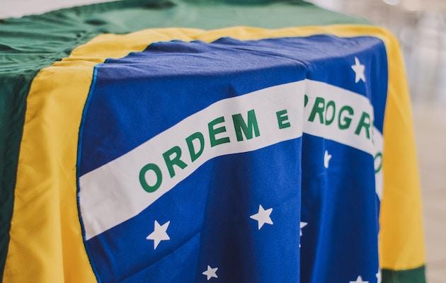The flag of Brazil. / Rafaela Biazzi, Unsplash, CC