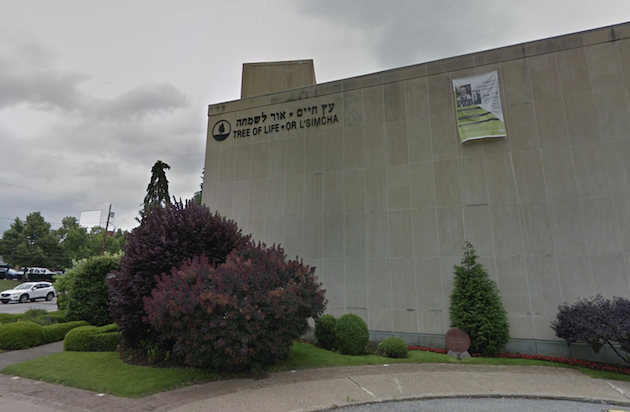 The Tree of Life Synagogue in Pittsburgh, USA. / Google Street View,