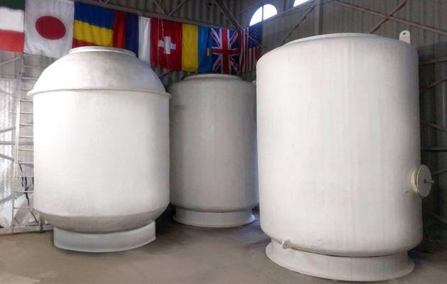 Cryopreservation capsules. / Wikimedia Commons.,