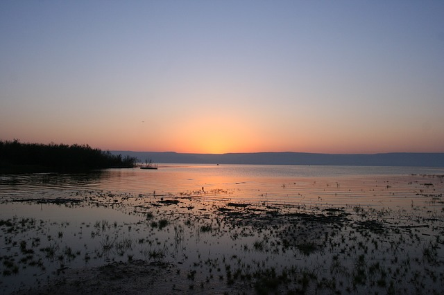 The Sea of Galilee, in Israel. / Pixabay.,