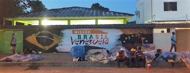 The Brazilian-Venezuelan Baptist mission, in Roraima. / Photo: Noemí Mena Montes,