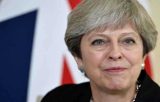 Theresa May, UK Prime Minister.,