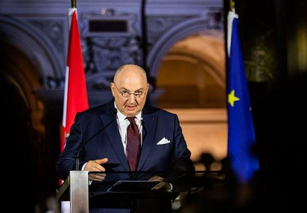 European Jewish Congress President Moshe Kantor, speaking in Vienna on November 21. / EJC website,