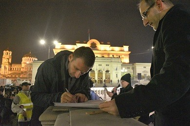 Around one hundred pastors signed a declaration against the Religious Denominations Act that could be soon voted in the parliament. / Vestnik Zornista