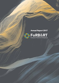 Cover of the fourth EU FoRB Intergroup report.