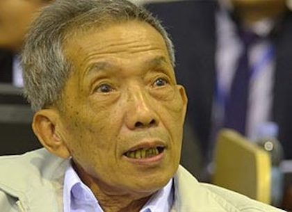 Duch, the main torturer of the Khmer Rouge, converted from Budhism to Christianity through a Cambodian evangelical pastor.
